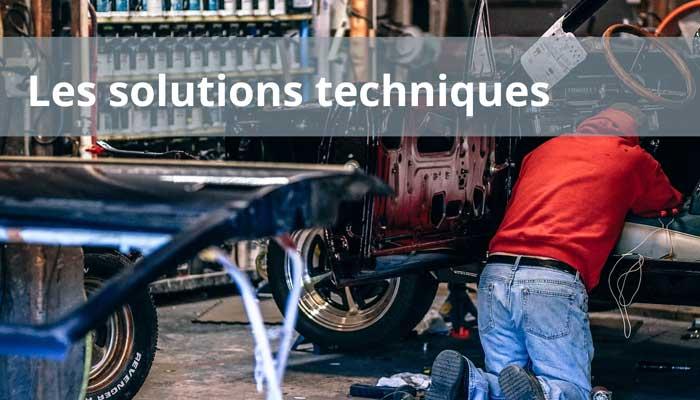 Les solutions techniques pour un site web professionnel
